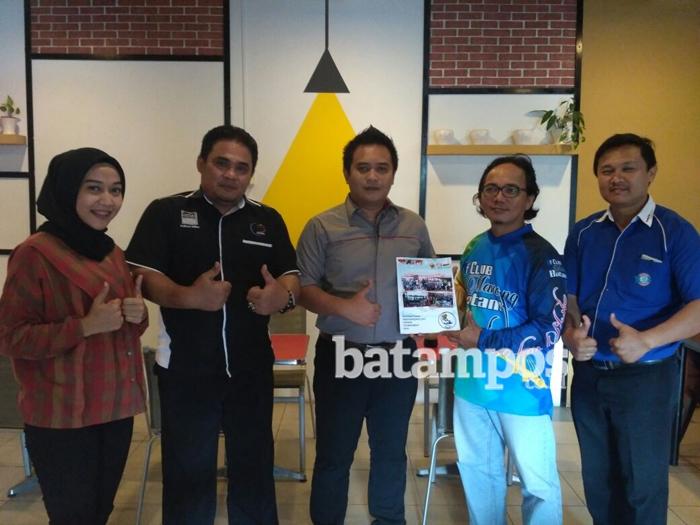 Club Mancing Batam Gelar Lomba Mancing Internasional