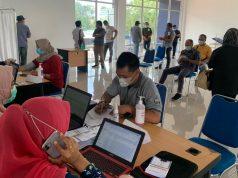 Vaksinasi di Batam